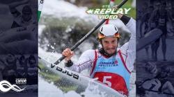 #TBT K1 Men Sebastian Schubert GER / 2018 ICF Canoe Slalom World Cup 1 Liptovsky