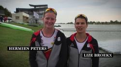 Hermien Peters & Lize Broekz Belgium: another year to Tokyo 2020 Olympics - ICF Canoe-Kayak Sprint