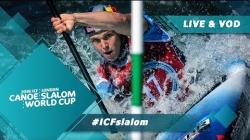 2019 ICF Canoe Slalom World Cup 1 London United Kingdom / Heats – C1w, K1m