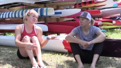 Laurence Vincent-Lapointe and Katie Vincent talk about the Canadian teams support