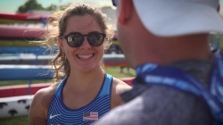World champion Nevin Harrison, USA, continues to train for Olympic dream - ICF Canoe-Kayak Sprint