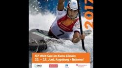#ICFslalom 2017 Canoe World Cup 2 Augsburg - Saturday morning