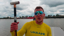 Pavlo ALTUKHOV Ukraine / 2021 Canoe Sprint European Tokyo 2020 Olympic Qualifier Szeged