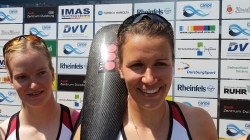 K4w 500m Final Germany Interview / 2019 ICF Canoe Sprint World Cup 2 Duisburg Germany
