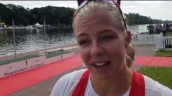 K1w 200m Final Emma Jorgensen Denmark / 2019 ICF Canoe Sprint World Cup 2 Duisburg Germany