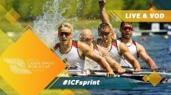 2019 ICF Canoe Sprint World Cup 2 Duisburg Germany / Day 3: Semis, B Finals