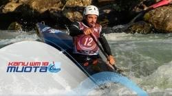 2018 ICF Wildwater Canoeing World Championships Muota / Cross