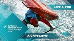 2019 ICF Canoe Freestyle World Championships Sort / Heats Jnr Km