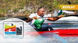 VL2 Men 200m Final / 2018 ICF Paracanoe World Championships Montemor