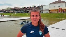 Eleftheria KAMINARI Greece / 2021 Canoe Sprint European Tokyo 2020 Olympic Qualifier Szeged