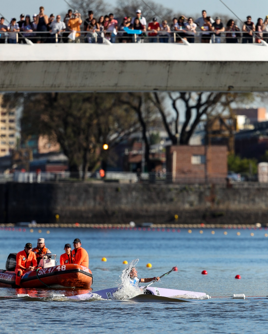 Crowd YOG 2018 canoeing competition Buenos Aires