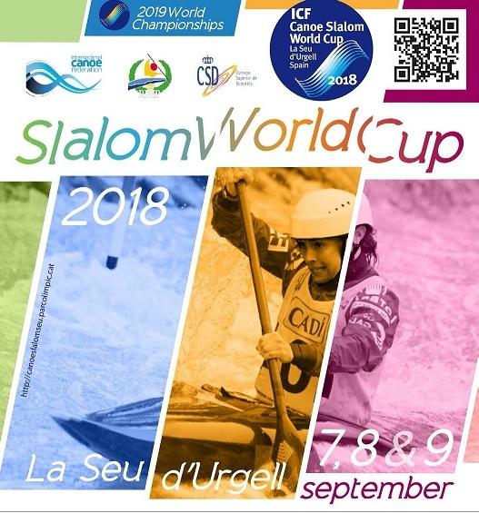 1st NEWSLETTER CANOE SLALOM WORLD CUP FINAL 2018 LA SEU