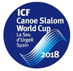 Logo 2018 ICF CANOE SLALOM WORLD CUP FINAL La Seu