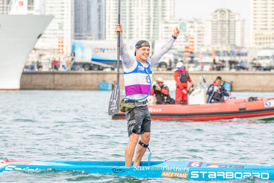Australia Michael Booth stand up paddle world championships Qingdao 2019