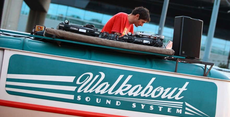 walkabout sound system championats du monde canoe kayak pau